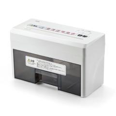小型電動シュレッダー(家庭用・マイクロクロスカット・静音・A4・連続使用8分)