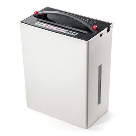 ゴミ圧縮機能付きシュレッダー SHD24(電動・A4・クロスカット・10枚細断・カード対応)