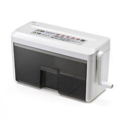 ハンドシュレッダー YK-PSD015(手動・A4・クロスカット・2枚細断)